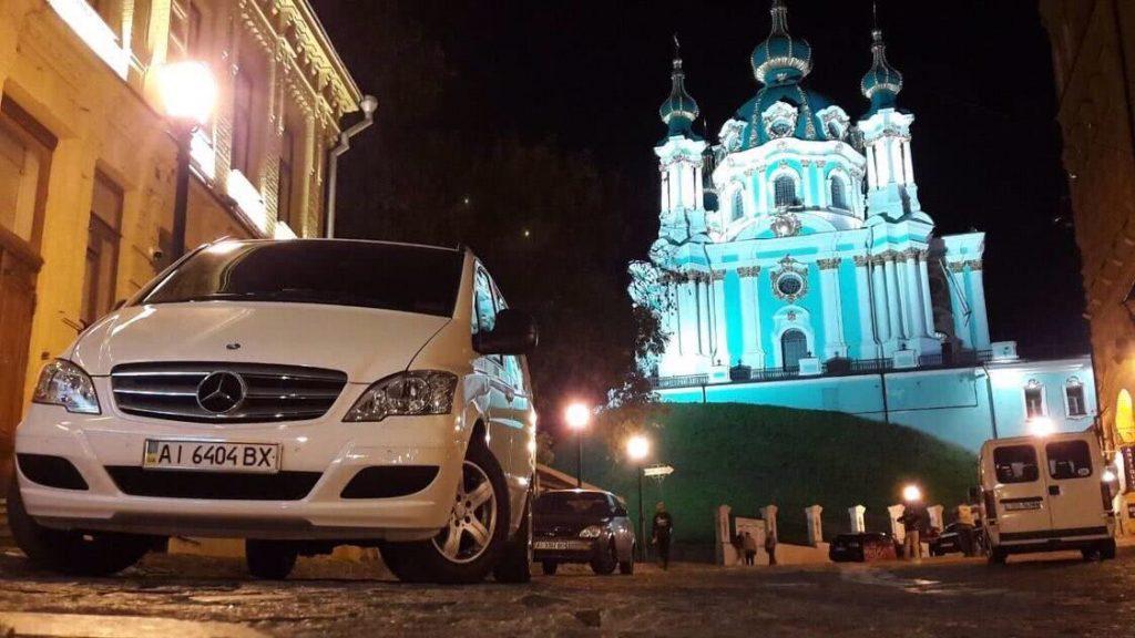 Пассажирский автомобиль на 6-8 человек в аренду по Украине мерседес