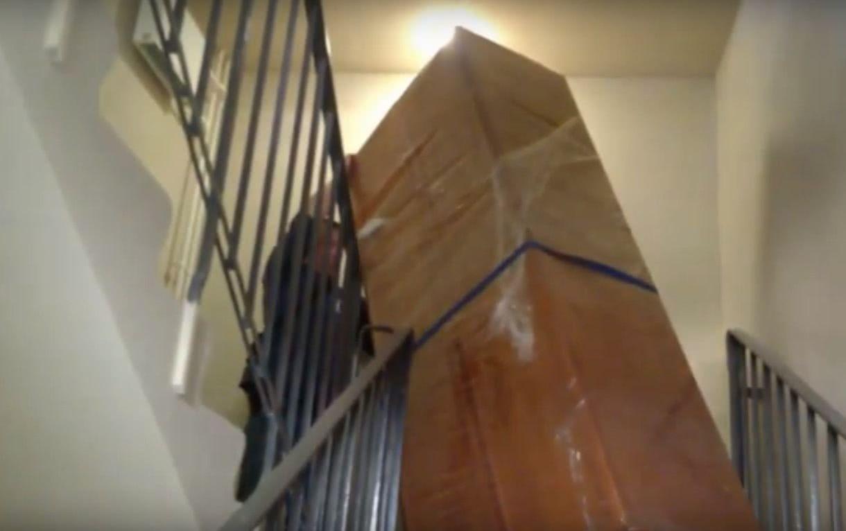 Разборка и сборка мебели при переезде